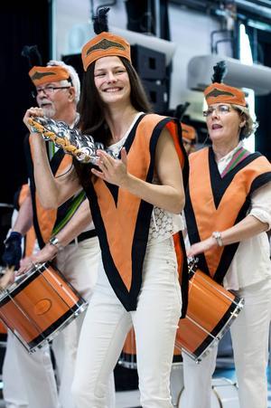 Samba nola trummade i gång årets Kulturfest.