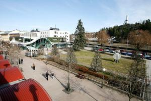 Strykjärnsparken i centrala Söderhamn.