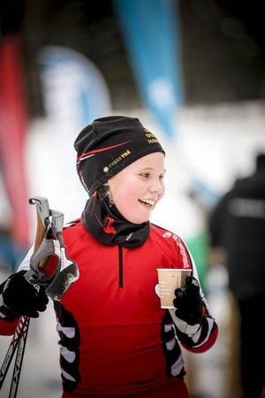 Hanna Mårtensson, Utrikes Skidklubb, älskar längdåkning.