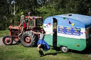 Garvsyras sommarfars En riktig cirkus spelas på Döda fallets vridläktare i sommar.