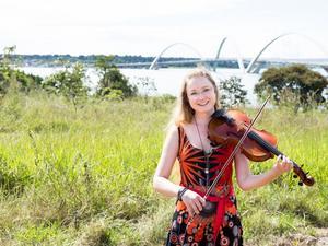 Anna-Maria Lundström i Brasilien.