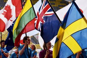 46 länder är representerade under O-ringen.