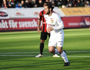 Alex DeJohn skadades i matchen mot Trelleborg FF.