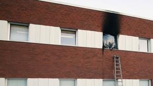 Branden för tre veckor sedan var anlagd.