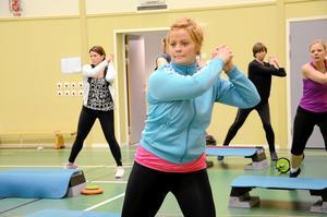 Välmåendet. Att träna är bra för hälsan det säger alla forskningsrapporter. I Hälsans hus finns en rad pass att välja mellan.