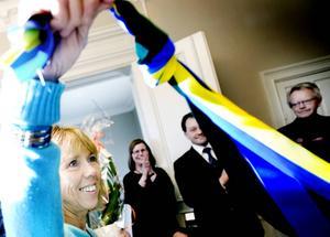 Hösten 2008 inviger Holmberg Barnahus Gävleborg som är till för barn som utsatts för övergrepp i nära relationer.