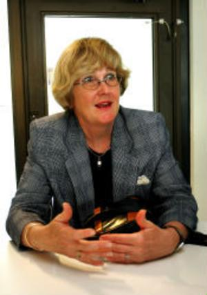 CSN, ny generaldirektör, Kerstin Borg Wallin,