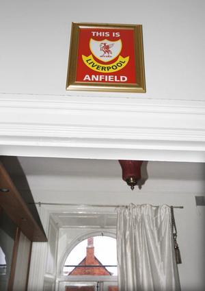 ... och Liverpool är Daniels favoritlag.