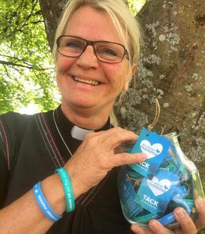 Lisbeth Parton är präst i Mikaels församling i Örebro.