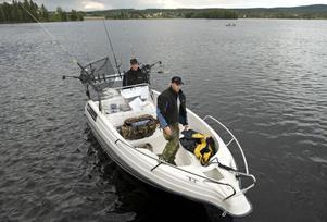 Warpen var en ny fiskesjö för Thomas Bergkvist och Fredrik Leek.