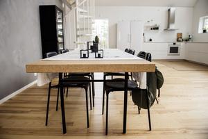 Sällskapsytorna är stora och rymmer både kök, matplats och loungedel.