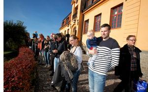 All Sveriges domstolar höll på lördagen öppet för allmänheten för att öka tillgängligheten.