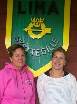 Anita Larsson och Johanna Hebert är två av Limas nya ungdomsledare.
