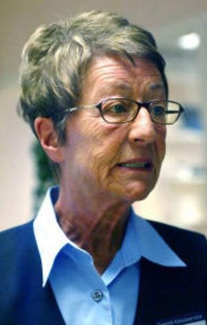 Gun Näslund är en trotjänare inom Posten, hon började 1958 som 16-åring, nästa år går hon i pension.