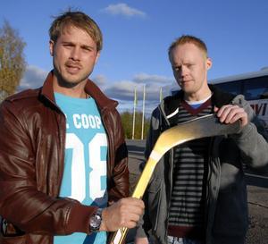 Johan Karlsson och Jonas Blomqvist är nya tränare i LAIK Hockey.