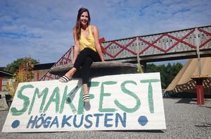 Initiativtagaren Eva Jilkén ser fram mot Smakfest Höga Kusten.