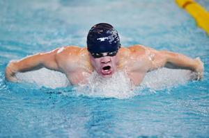 Gustav Norén Vosveld, var en av simmarna från arrangörsklubben Härnösands Simsällskap.