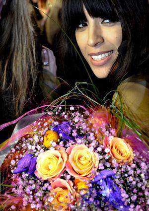 Succé igen. Två dagar efter framgången i Melodifestivalen vann Loreen ett pris.