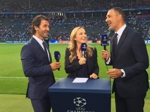 Fick storfrämmande av Karl-Heniz Riedle och Ruud Gullit inför Champions League-finalen!