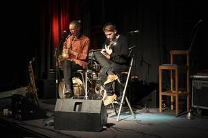 Herbie är saxofonisten Erik Hellqvist och gitarristen Marcus Moberg.