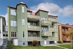 Lägenheten på Storgatan är på 116 kvadrat.