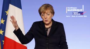 Tyskland och förbundskansler Angela Merkel har precis som Sverige tagit emot många flyktingar.