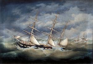 """Några fartyg var döpta efter medlemmar av släkten, som """"Louise""""."""