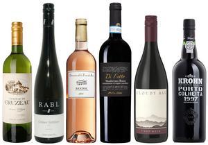 Sex goda vinköp bland de tillfälliga vinnyheterna med lanseringsdatum 5 maj.