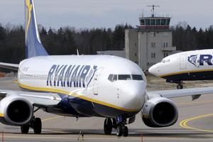Många flyger med Ryanair.