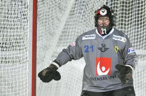 Anders Svensson var under många år back-up till Andreas Bergwall i landslaget.