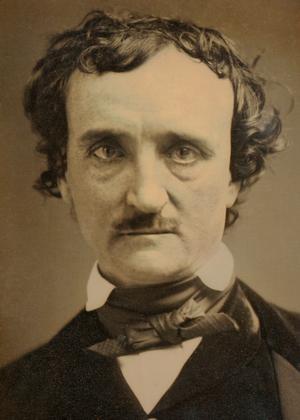 Den amerikanske författaren och poeten Edgar Allan Poe 1849.