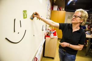 Pentti Wedman och Alva Bergkvist är fokuserade på lärandet.