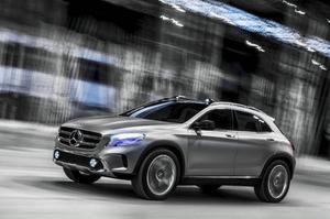 Mercedes GLA.Foto: Daimler