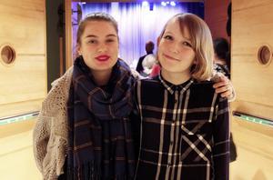 Miriam Lindgren och Christine Ståhlberg besöker Trettondagsjazzen för första gången.