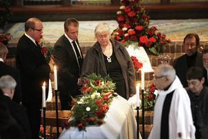 Kommunalråd Monica Jacobsson var en av många på plats.