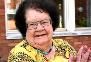 94-åriga Birgitta Stafsudd minns Olof Palme och Gösta Bohman som skickliga politiker.