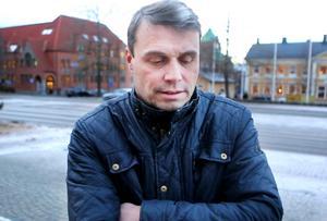 Daniel Kindberg kräver lön under sin uppsägningstid men Östersundshem vill inte betala.Foto: Håkan Luthman