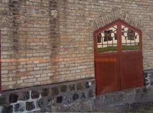 Tegelväggarna i gamla industrilokaler är ofta konstverk bara de. Bild: Yla Kempe