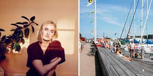 Lovisa Jennervall är en av de artister som uppträder i Nynäshamn under den kommande veckan.