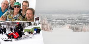 Hillclimb och besök av Svenne Rubins i Solbergsbacken under lördagen. Foto: Hasse Eriksson, Robbin Norgren och Izabelle Nordfjell.
