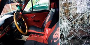 En invånare i Sorunda tappade humöret när han träffade på två ungdomar i en EPA-traktor.