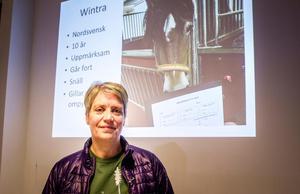 Lena Stenvall arbetade med hästunderstödd behandling redan 1988.