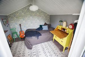 Boden för trädgårdsredskap blev ett gästhus.