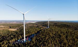 Det behövs 8400 vindkraftverk för att ersätta sex kärnkraftverk. Foto: Hemab