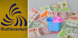 Svartstädning och penningtvätt prioriteras bland annat av Skatteverket under 2020. Bilden är ett montage.