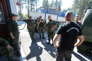 Branden i Pålgård fick nationell uppmärksamhet, och i släckningsarbetet var frivilliga, hemvärnet och räddningstjänst på plats.