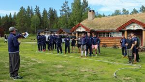 Leksands hockeygrabbar hade fina dagar vid Kårtjärn.