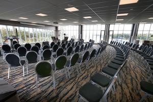 Ett konferensrum med utsikt av det mer exklusiva slaget.