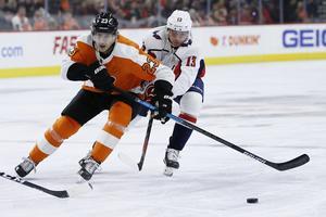 Oskar Lindblom fortsätter att producera i Philadelphia Flyers. Bild: AP Photo/Matt Slocum