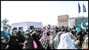 Gränsen mellan Iran och Pakistan. Foto: Privat